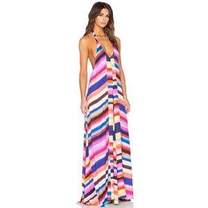Mara Hoffman Solstice Maxi Dress Rainbow